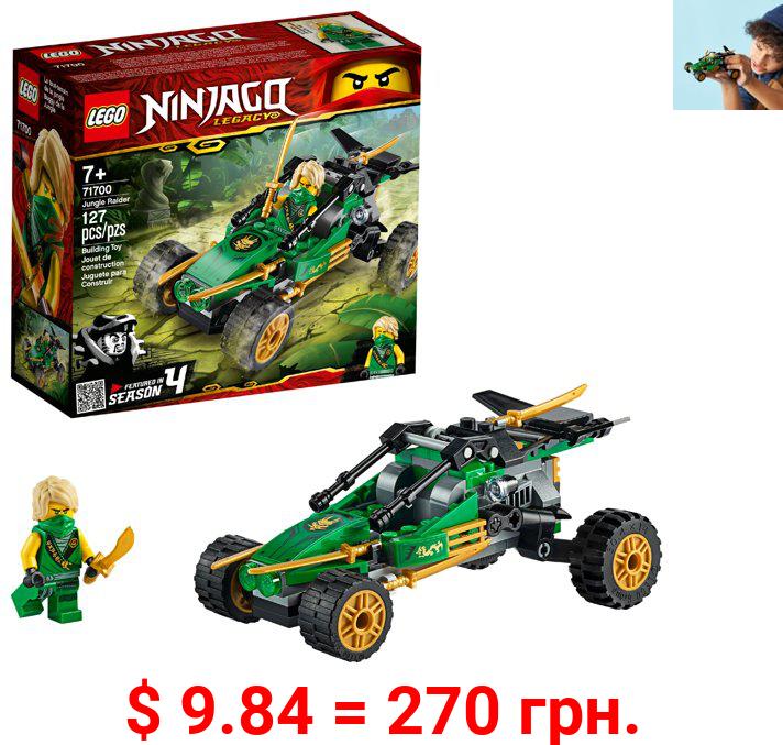 LEGO NINJAGO Legacy Jungle Raider 71700 Toy Buggy Building Kit (127 Pieces)