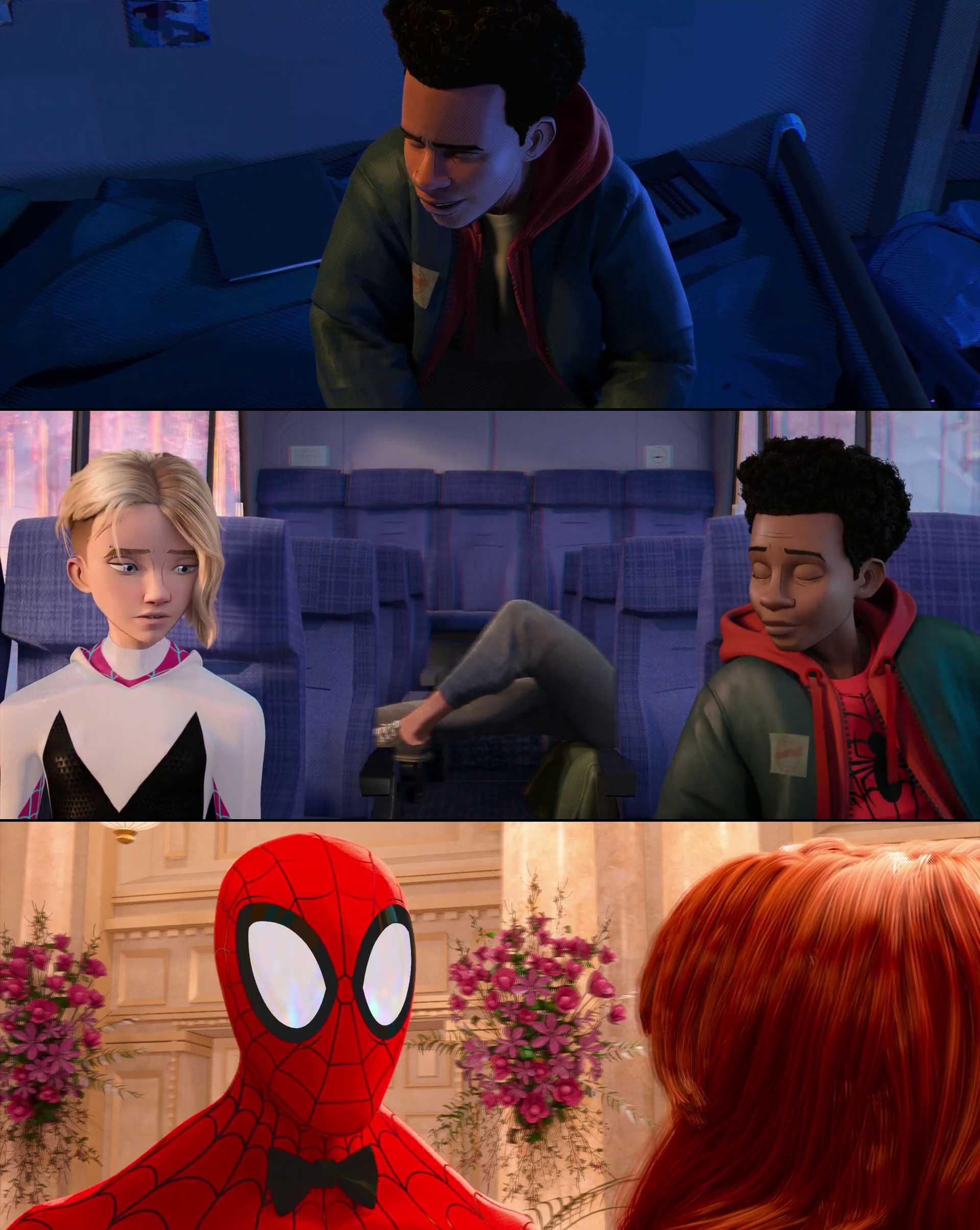 Screenshot of Spider-Man: Into the Spider-Verse Movie