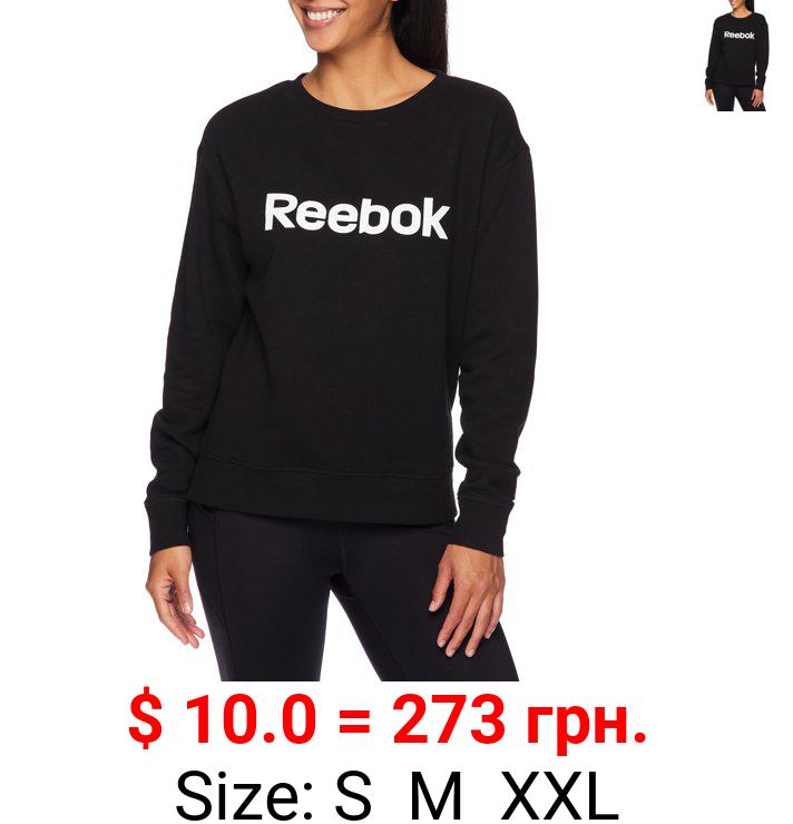 Reebok Women's Athleisure Fleece Crew