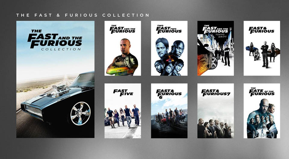 Fast and Furious Octalogy Collection (2001-2017) Dual Audio [Hindi + English] | x264 | x265 10bit HEVC Bluray | 1080p | 720p | 480p