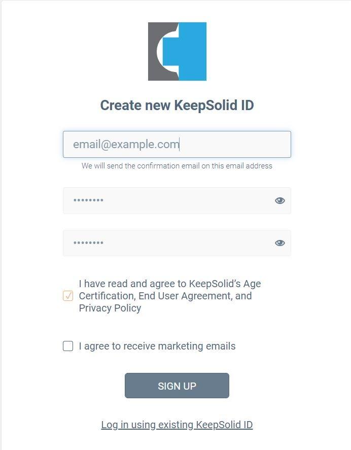 Ottenere 2 mesi gratuiti su KeepSolid VPN