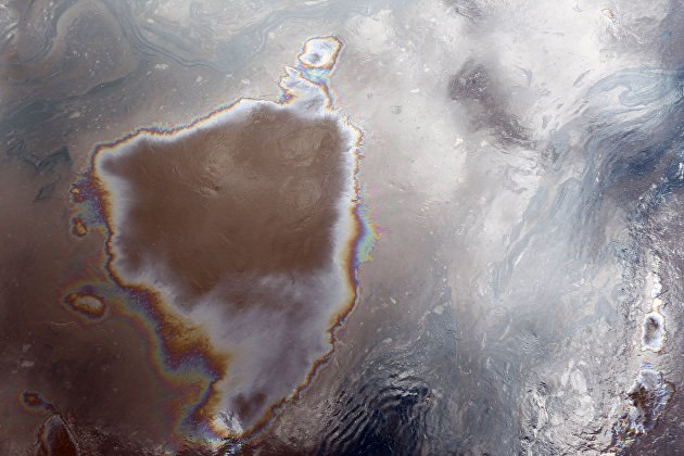 Разлив нефти произошел на трубопроводе в Хабаровском крае