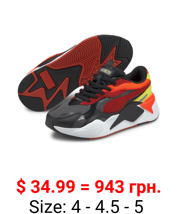 RS-X³ Neon Flame Sneakers JR