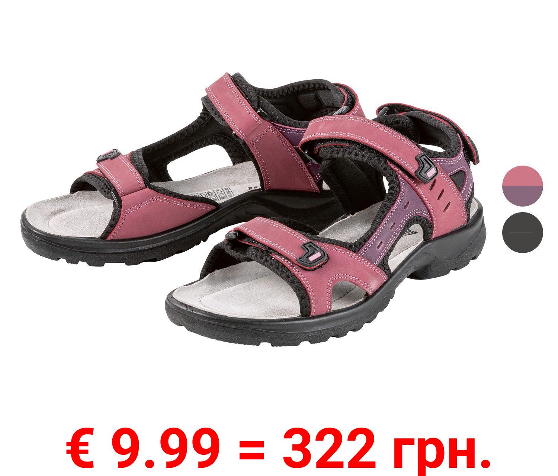 CRIVIT® Sandalen Damen, mit Klettverschlüssen