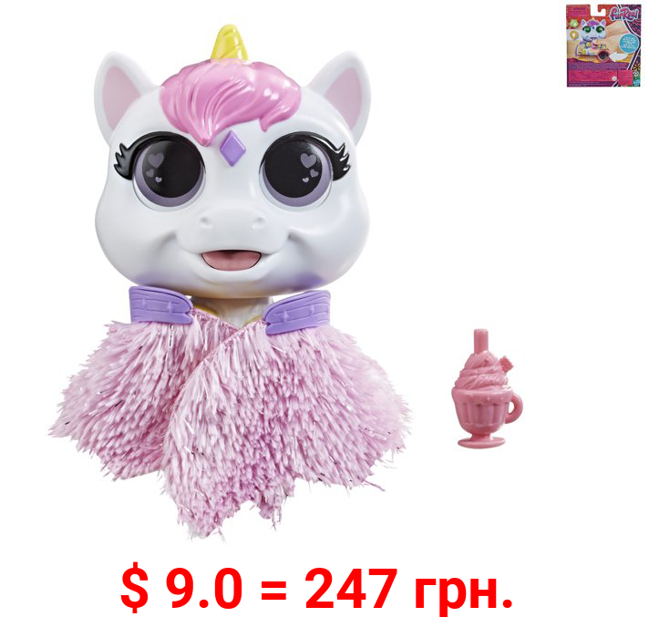 FurReal Airina the Unicorn, Interactive Feeding Toy, Lights and Sounds