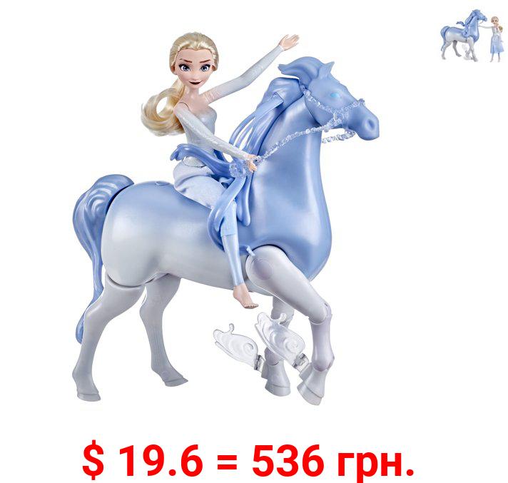 DIsney's Frozen 2 Elsa Fashion Doll and Swim and Walk Nokk