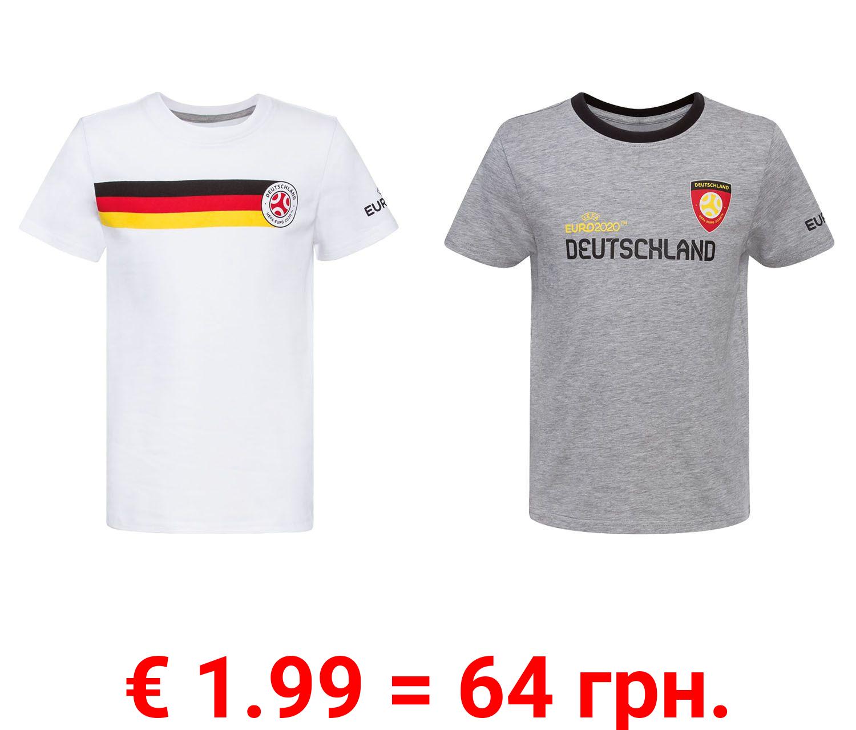 T-Shirt Jungen, Deutschland UEFA Fußball EM