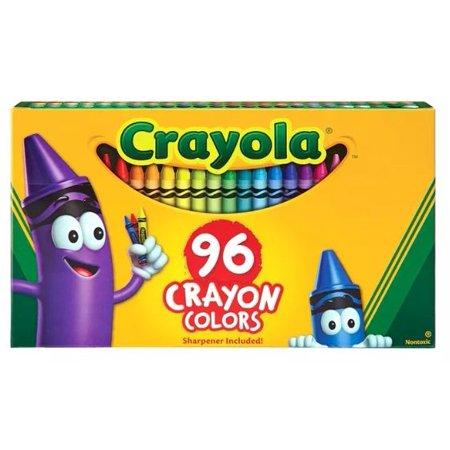 Crayola Crayon Set, 96-Color Set