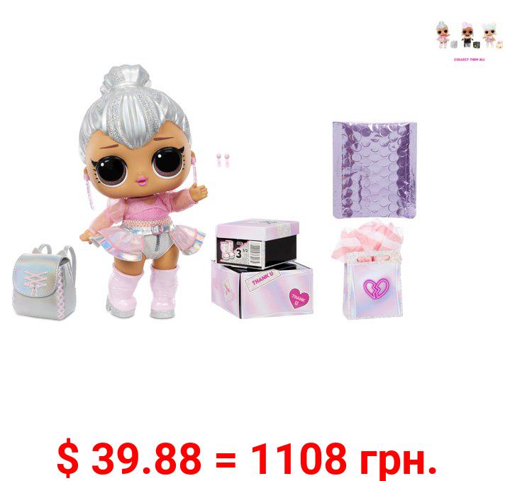 LOL Surprise Big B.B. (Big Baby) Kitty Queen – 12