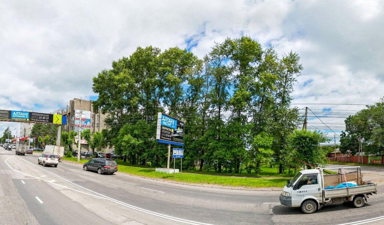 Реконструкция проспекта 60-летия Октября в Хабаровске намечена в следующем году