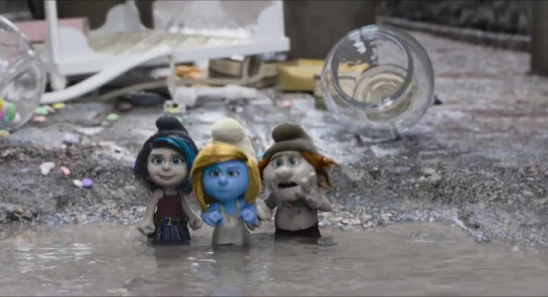 Movie Screenshot of The Smurfs 2