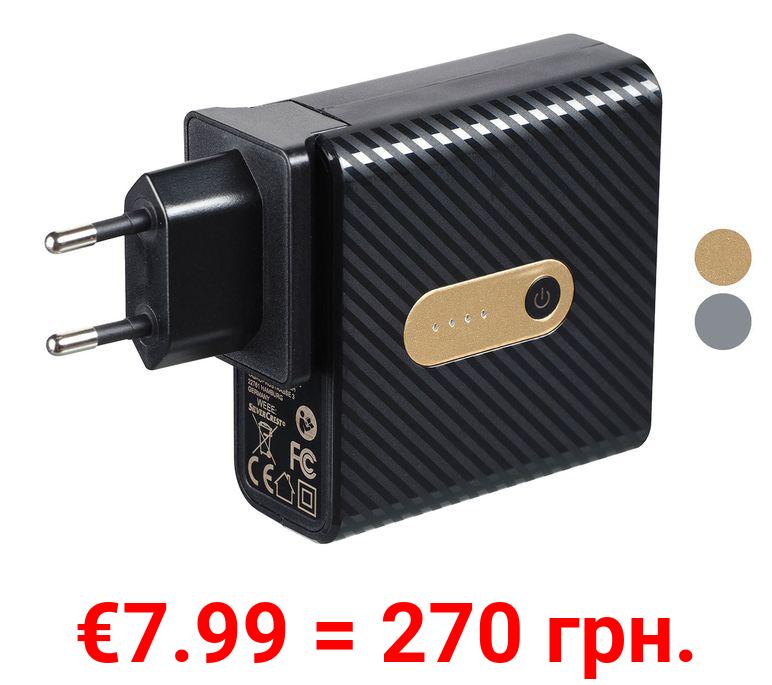 SILVERCREST® USB Reiseladegerät mit integrierter Powerbank SMRP 5200 A1