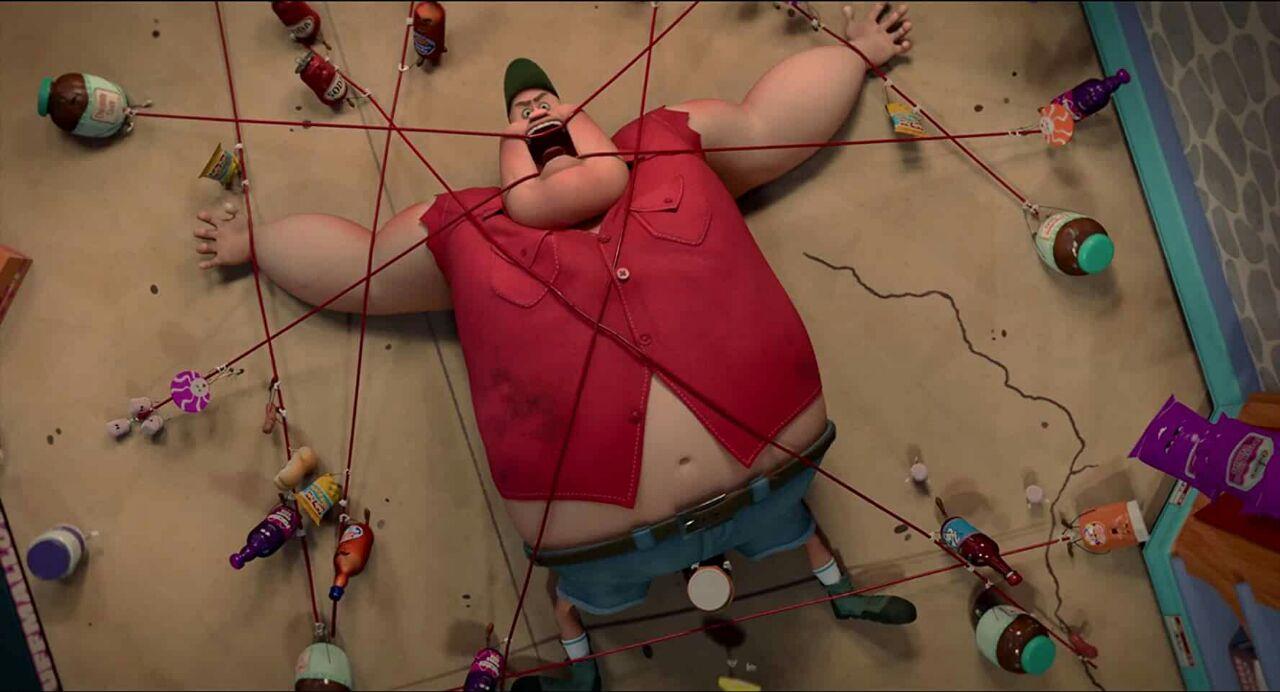 Movie Screenshot of Sausage Party
