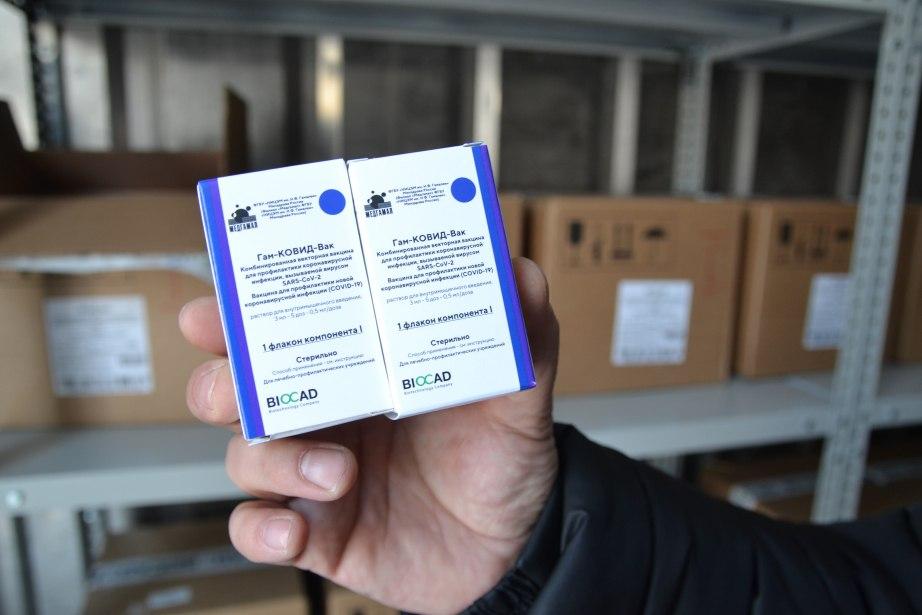 Хабаровский край получил 21600 доз вакцины от коронавируса