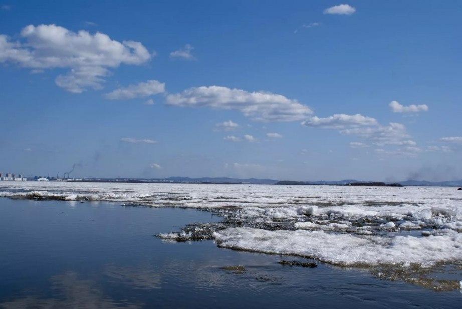 Граница ледохода подходит к Хабаровску