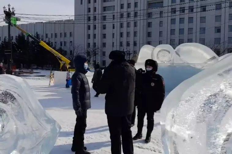 В Хабаровске из-за протестных акций задержали двух человек