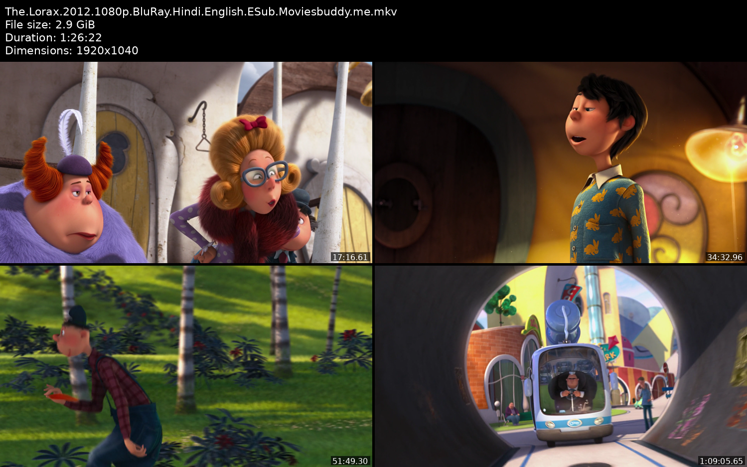 The Lorex 2012 Movie Screenshots