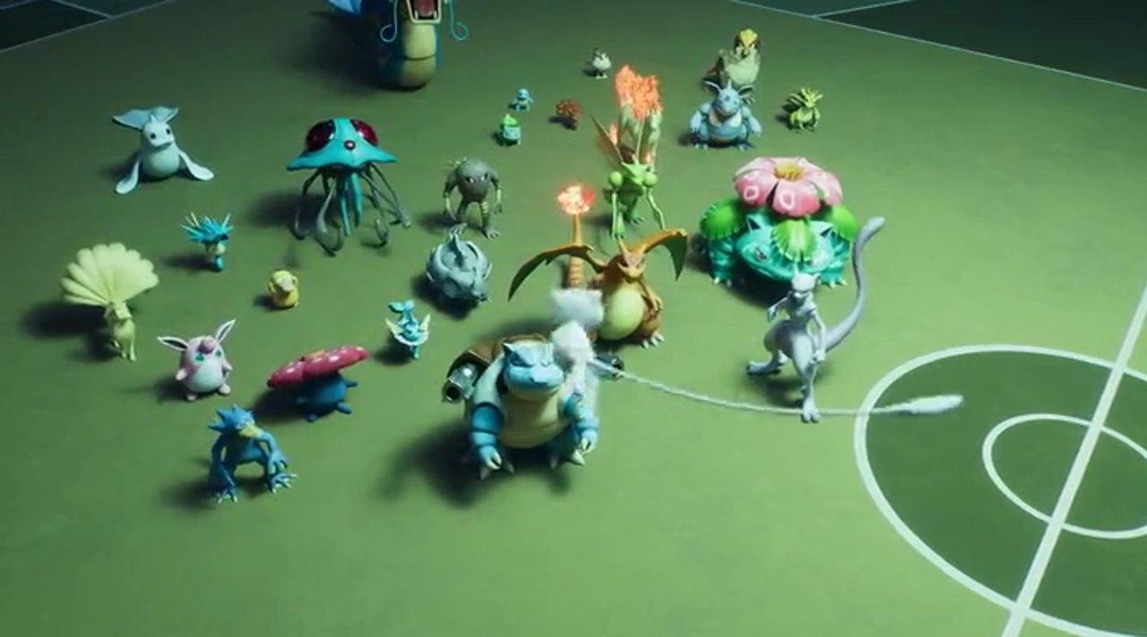 Video Screenshot of Pokémon: Mewtwo Strikes Back - Evolution