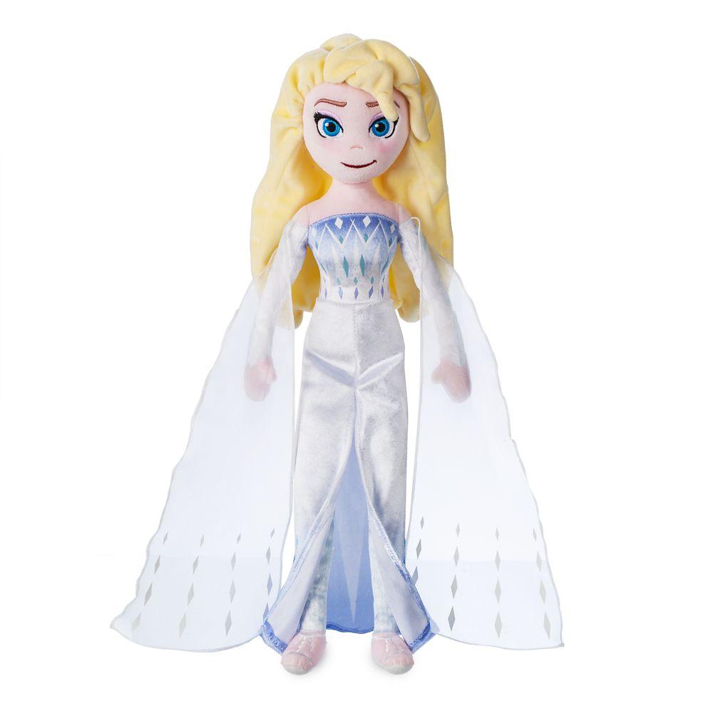 Elsa the Snow Queen Plush Doll – Frozen 2 – Medium – 18''