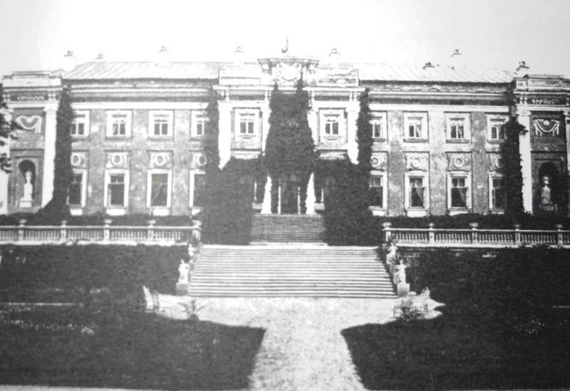 Так Мерчанський палац виглядав ще на початку ХХ століття