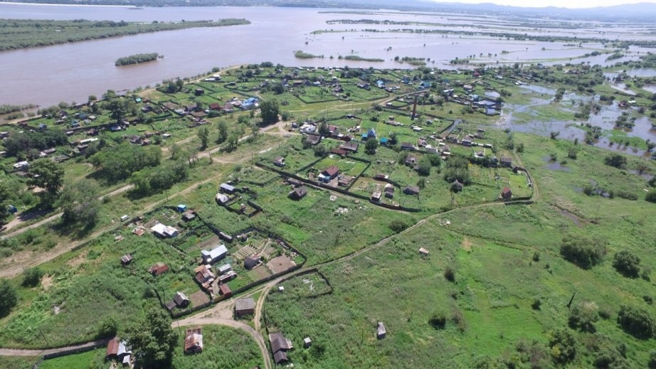 МЧС: Хабаровское левобережье - возможно подтопление участков