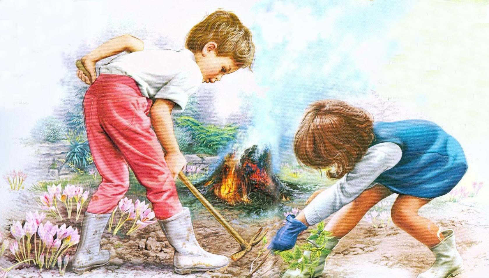 Картинка про добрые дела