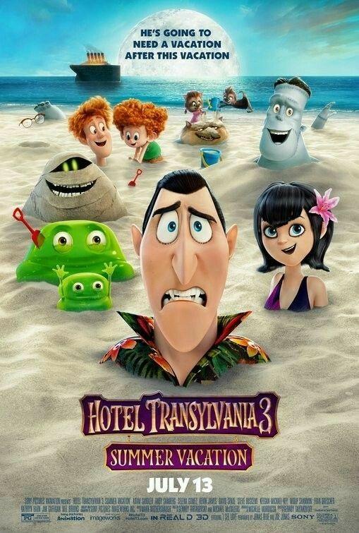 Free Download Hotel Transylvania 3: Summer Vacation Full Movie