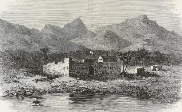Предполагаемый вид крепости Сагалло