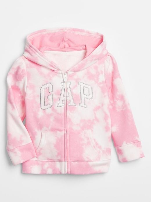 Toddler Print Gap Logo Hoodie