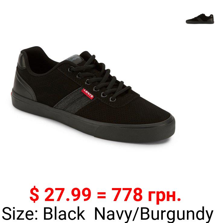 Levi's Mens Miles Perf PU NB Contrast Trim Casual Sneaker Shoe