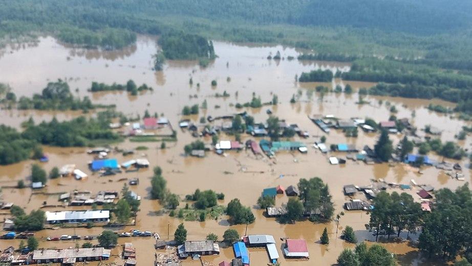 Новую волну паводков ожидают спасатели в Хабаровском крае