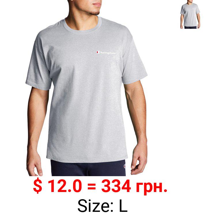 Champion Men's Classic Left Side Mini Script Graphic T-Shirt, Sizes S-2XL