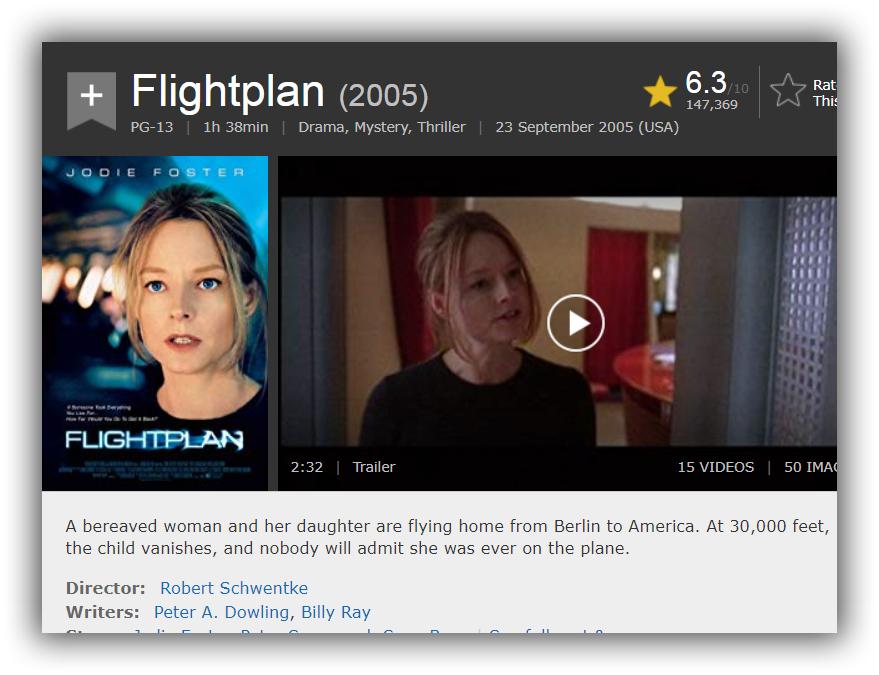 Flightplan 2005 Bluray 1080p Telegraph