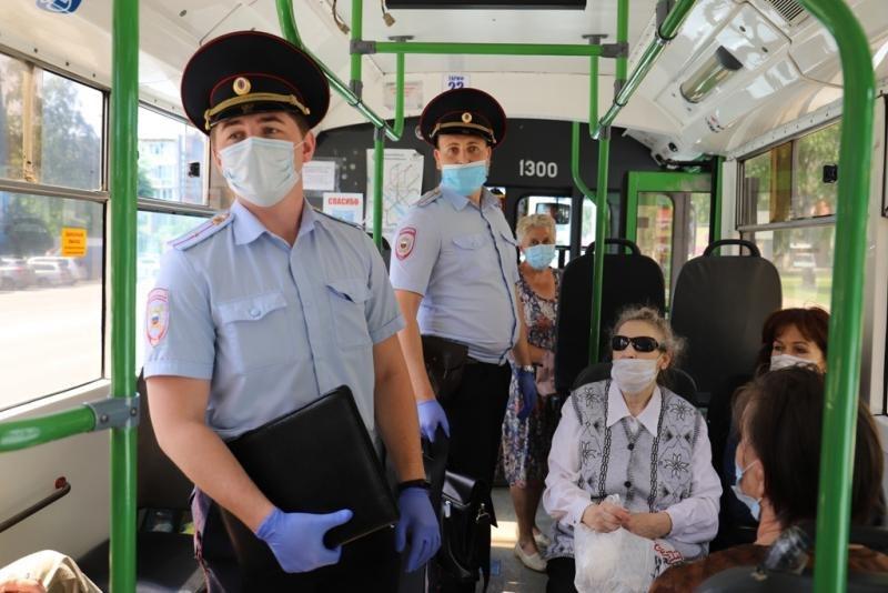 Высаживать без маски будут в автобусах Хабаровска