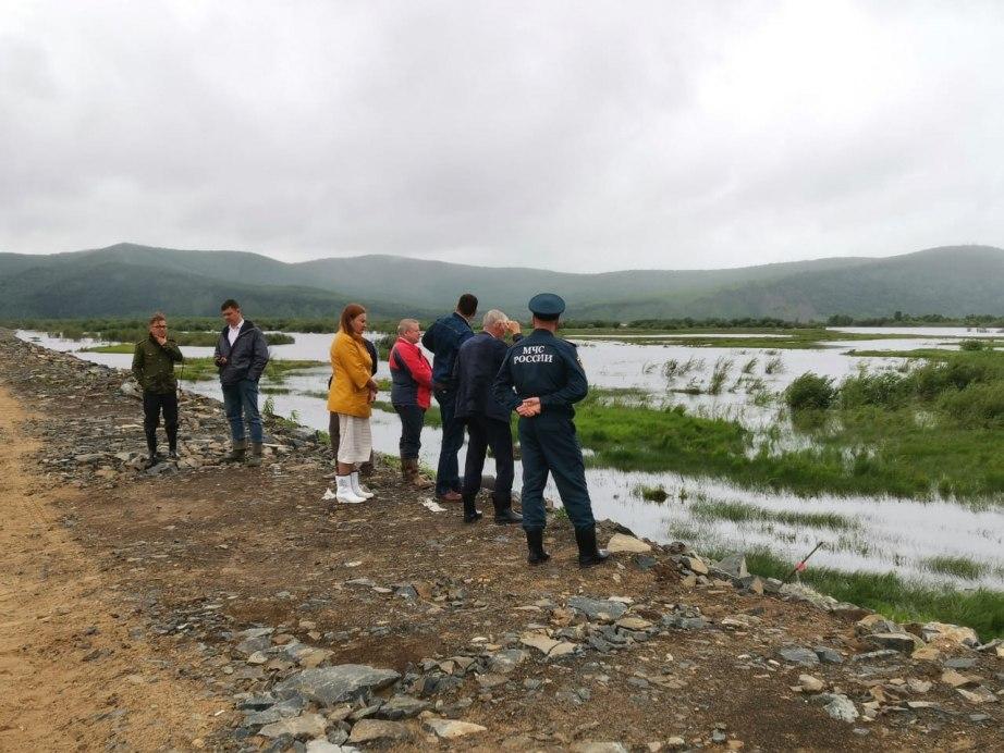 В Комсомольске-на-Амуре готовятся к наводнению