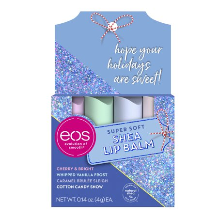 ($8.99 Value) eos Holiday Lip Balm Stick - Variety Pack | 4 count