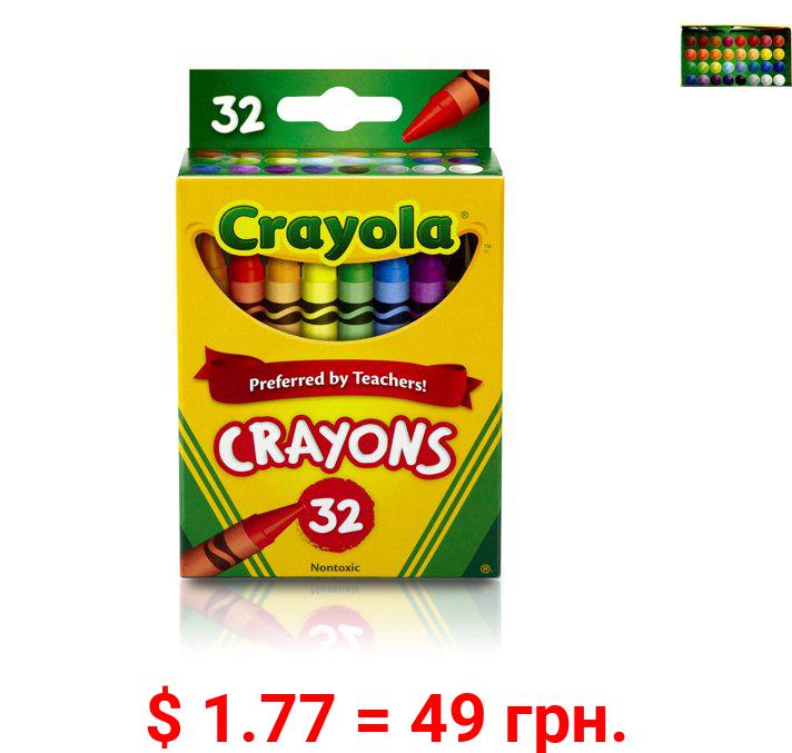 Crayola Classic Crayons, 32 Count