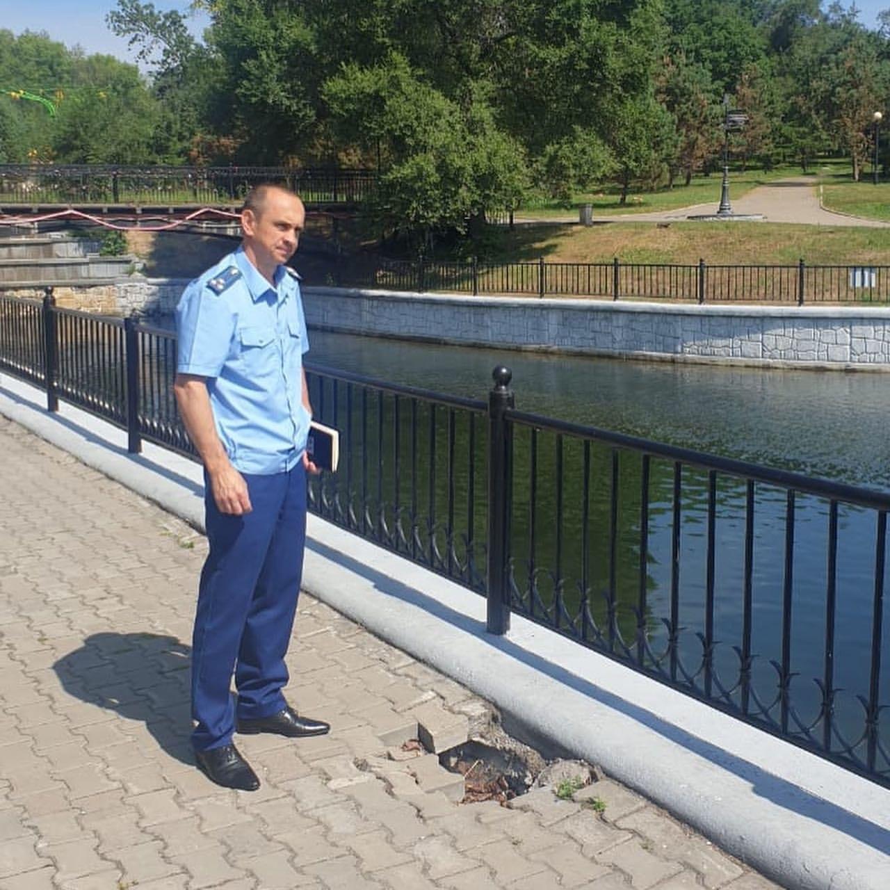 Прокуратура проверяет городские пруды в Хабаровске
