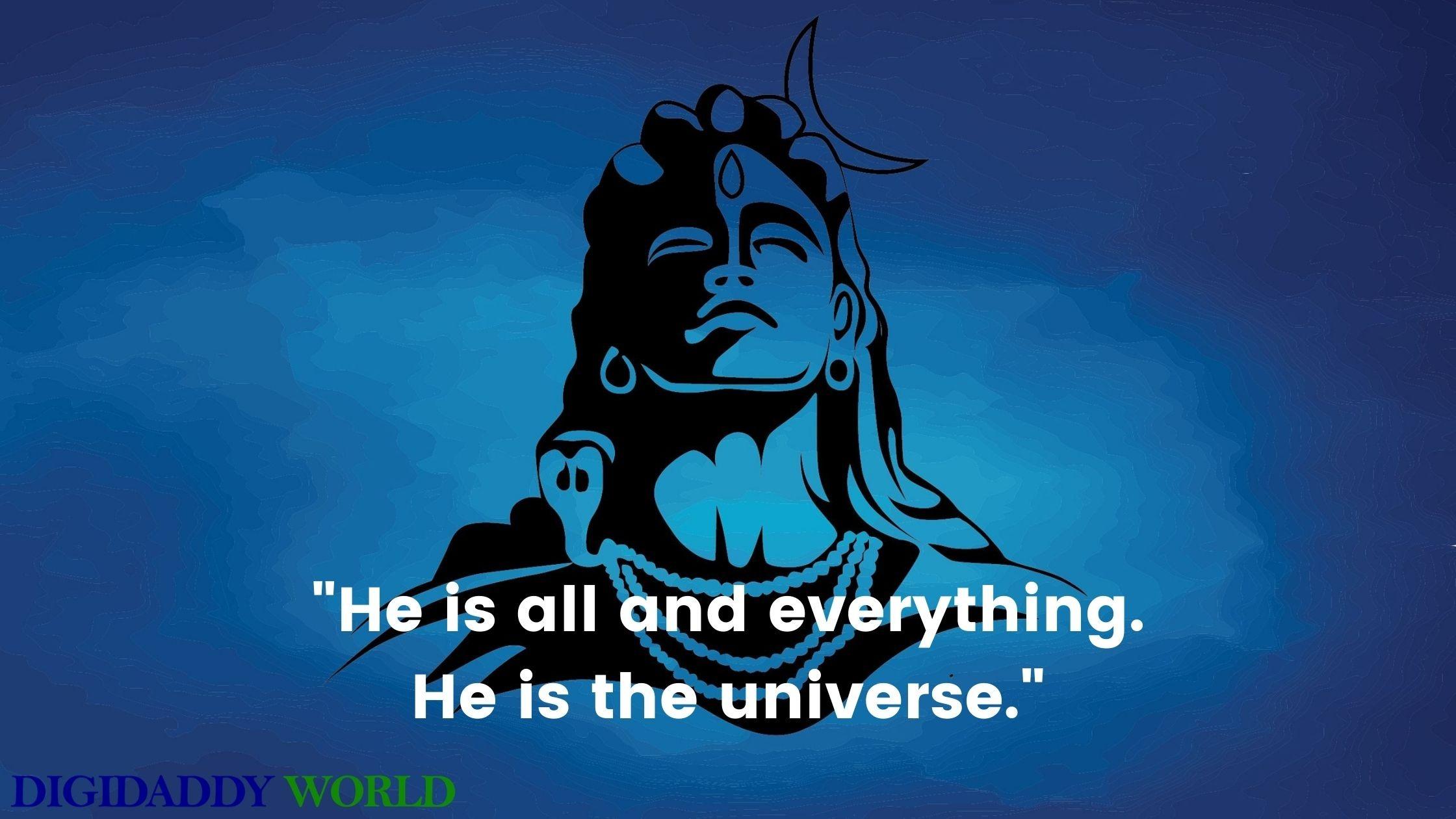Mahadev – Lord Shiva Quotes In English