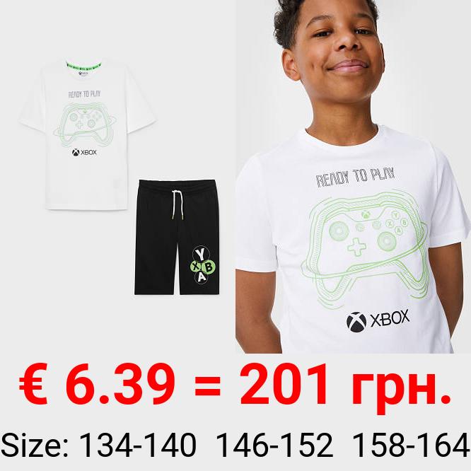 Xbox - Set - Kurzarmshirt und Sweatshorts - 2 teilig
