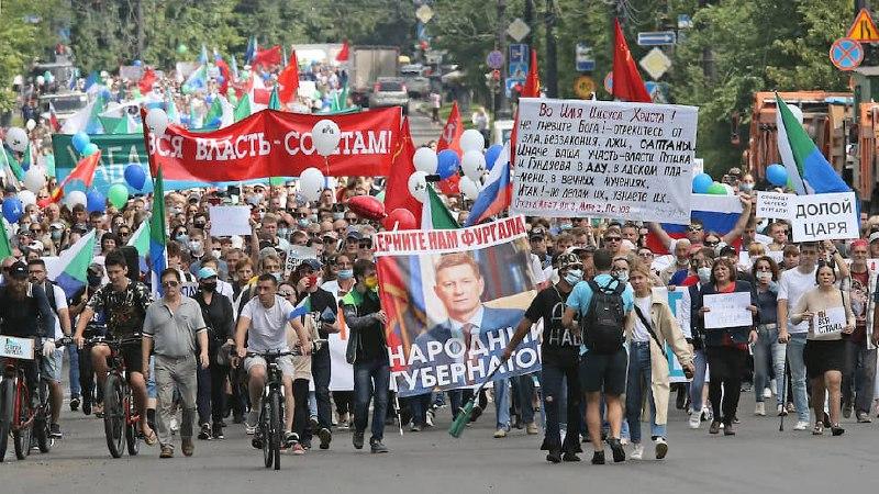 Митинги за Фургала вновь стартуют в Хабаровске