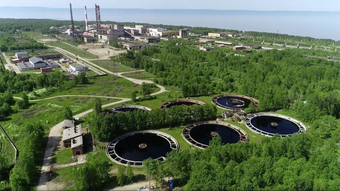Территория бывшего Байкальского ЦБК / фото Росатом