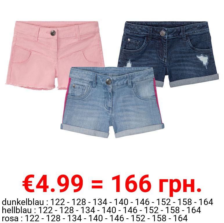 PEPPERTS® Jeansshorts Mädchen, im 5-Pocket-Style