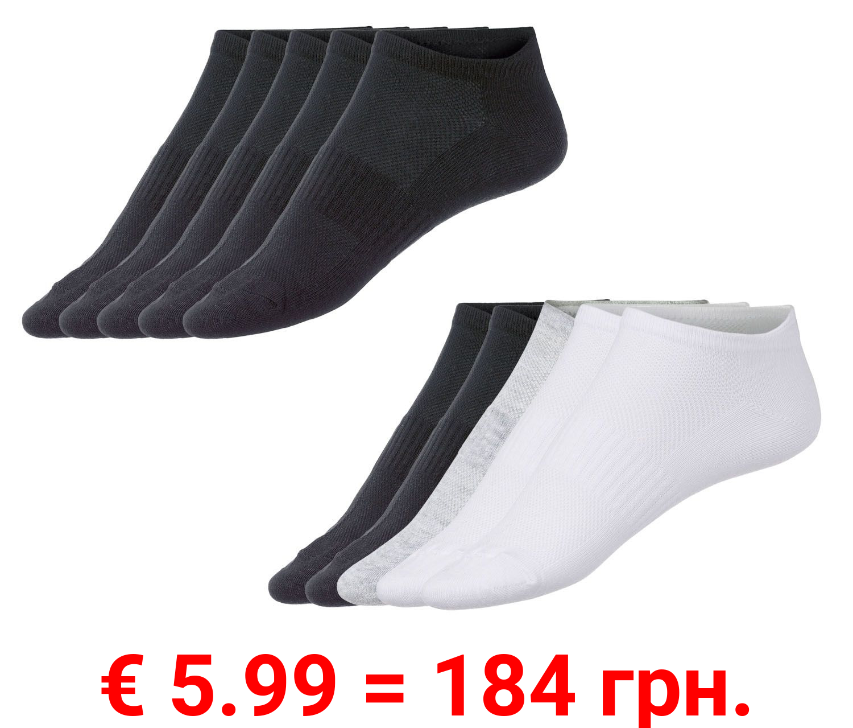 CRIVIT® 5 Herren Sneakersocken