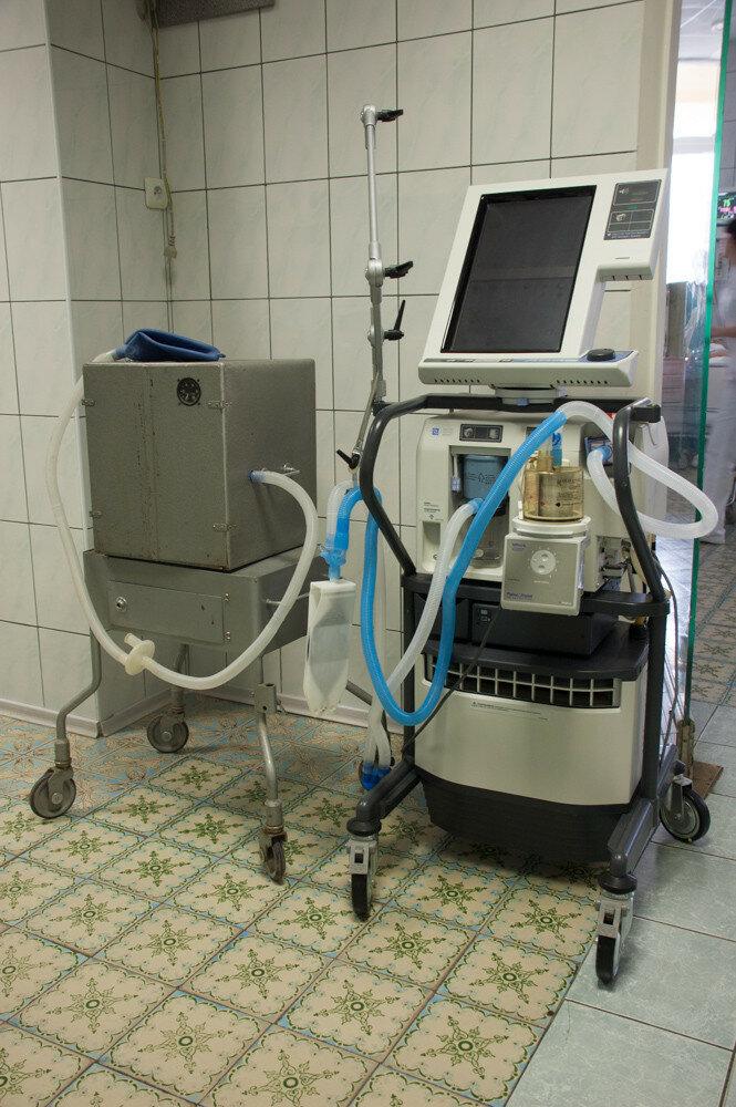 Первый в стране аппарат искусственной вентиляции легких