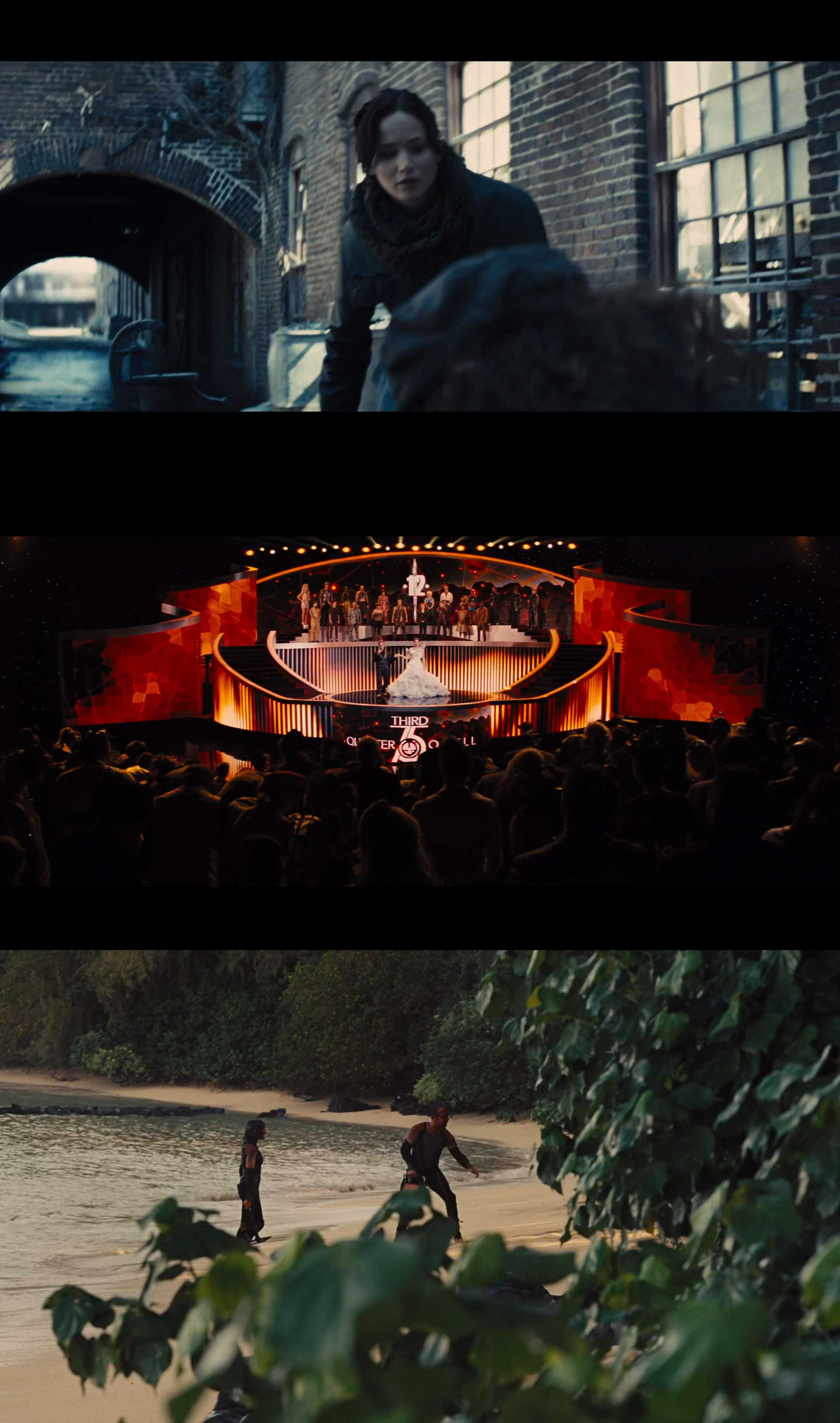 Screenshot of The Hunger Games: Catching Fire Movie