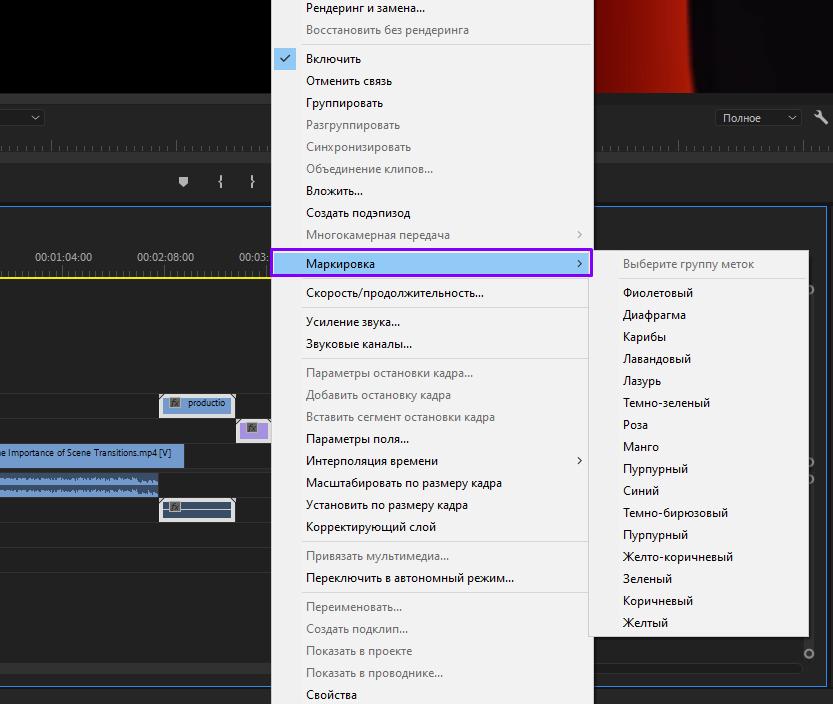 Полезные функции Premiere Pro о которых мало кто знает