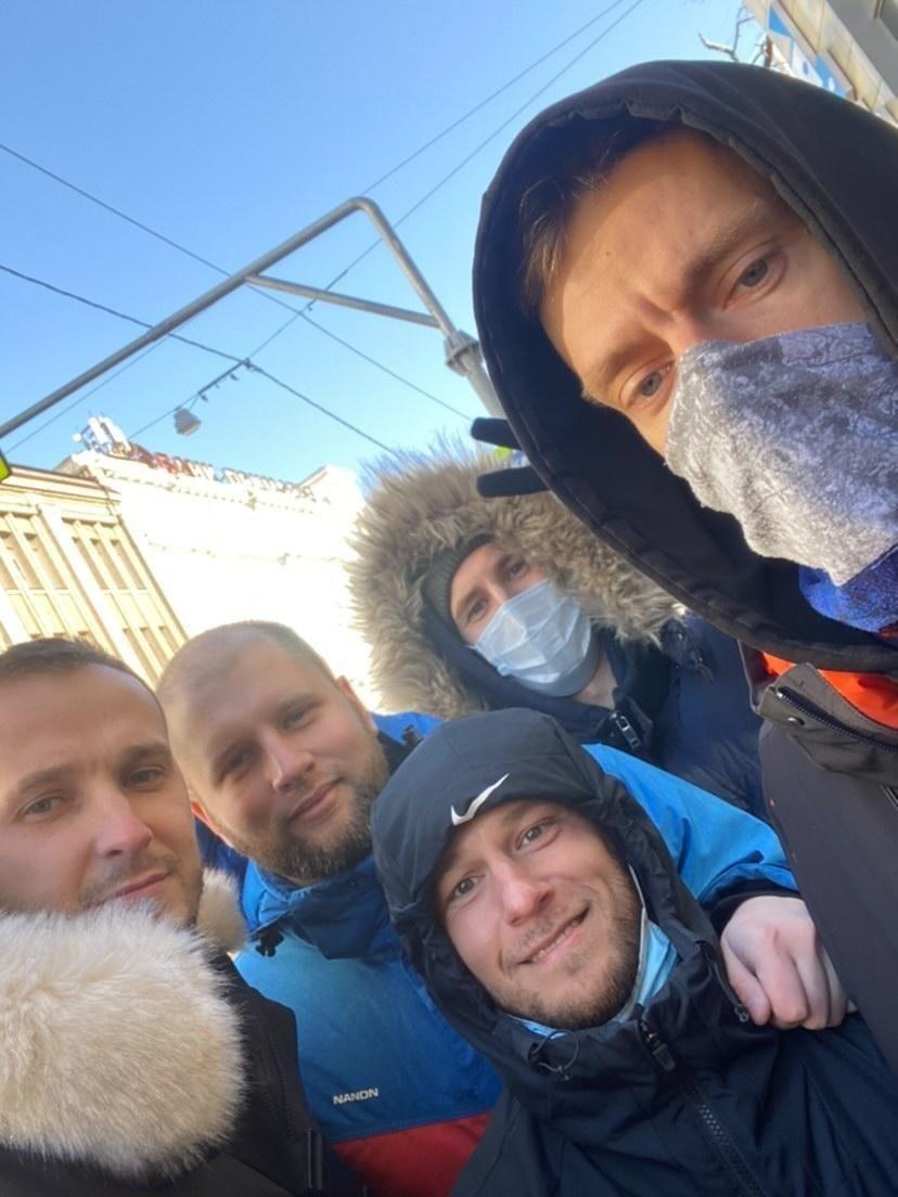 Юрий Дудь вышел на митинг во Владивостоке