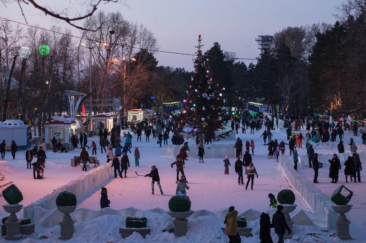 Куда пойти на новогодних праздниках в Хабаровске?