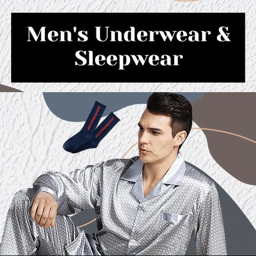 Men's Underwear & Sleepwear